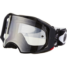 Oakley Airbrake MX Brille jet black speed/clear